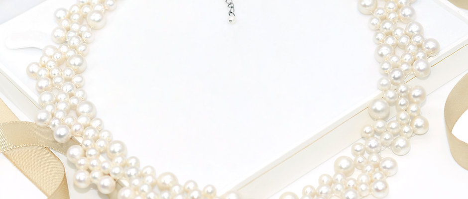 Winter 淡水珍珠織鏈