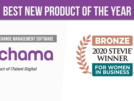 Chama Wins Stevie for Best New Product of the Year