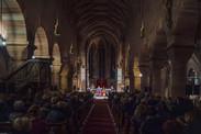 Eglise Saint-Georges, inauguration du marché de Noël de Haguenau