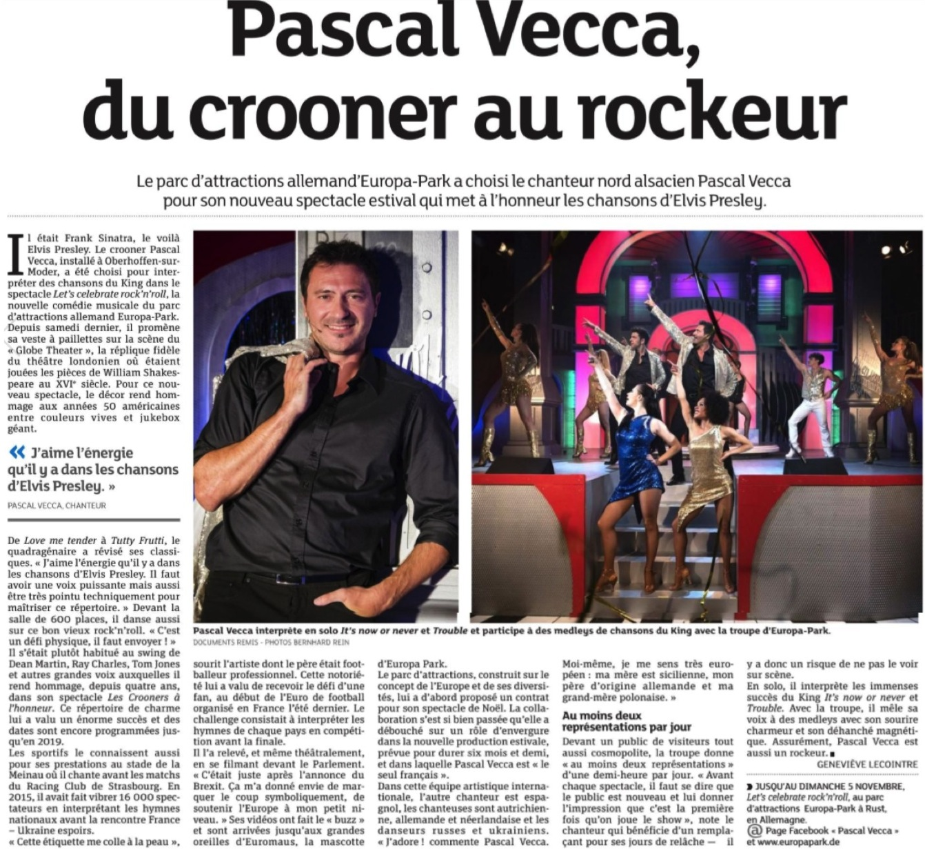 Article Pascal VECCA DNA Haguenau 060517