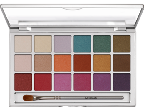 Kryolan Eyeshadow Variety V1 18 Farben