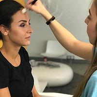 Tolle schüler am arbeiten#makeup #makeup