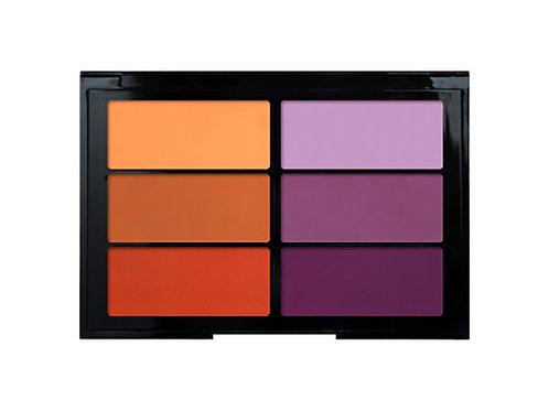 Viseart - Blush 6er Palette Orange Violet