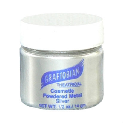 Graftobian Cosmetic Powdered Metals Silver