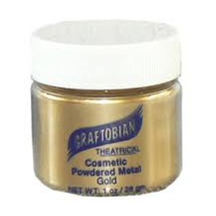 Graftobian Cosmetic Powdered Metals Gold