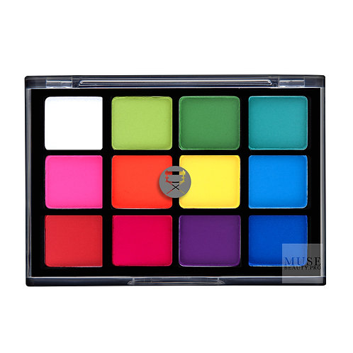 Viseart Basic Lidschatten Palette (V),Editorial bright