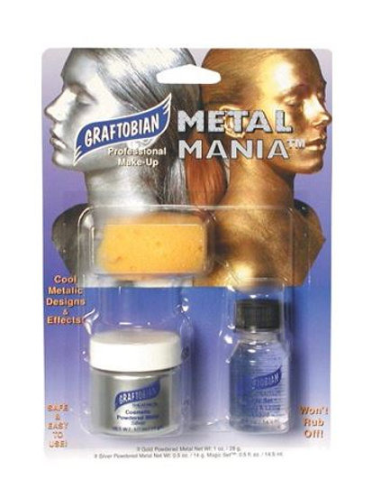 Graftobian Metal Mania Silver Set