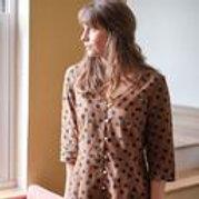 LIZA POLKA DOT SWING DRESS by Bibico