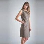 TIANA STRIPED PINAFORE DRESS by Bibico