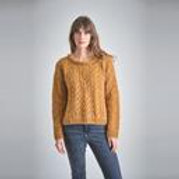 CHRISTY HAND KNITTED MOHAIR SWEATER by Bibico
