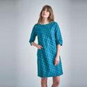 JOSIE DOTTY TUNIC DRESS by Bibico