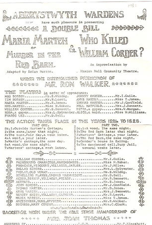 Maria Marten : Who Killed William Corder