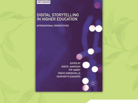 Book of the Month: Digital Storytelling in Higher Education: International Perspectives