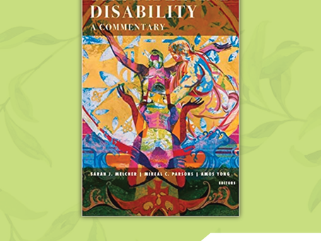 Book of the Month: The Bible and Disability: A Commentary