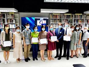 Celebrating graduates of M.A. in Intercultural Studies with Wheaton College