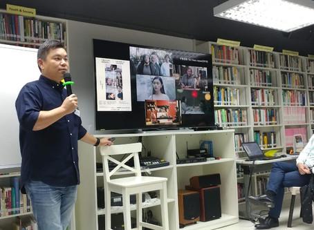 「動盪時代 我的故事」研討會: 蔡廉明監製 的分享