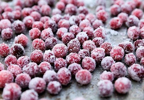 Sugared Cranberries - Brittle