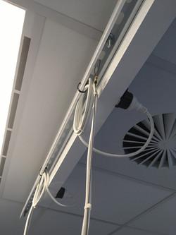 Mainline® stroomrail in het plafond