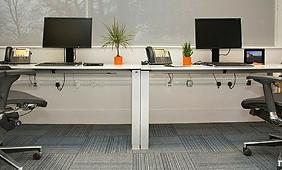 verplaatsbare design stopcontacten op kantoor