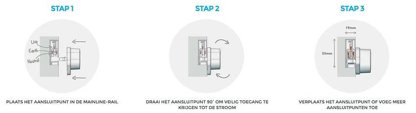 verplaatsbare design stopcontacten