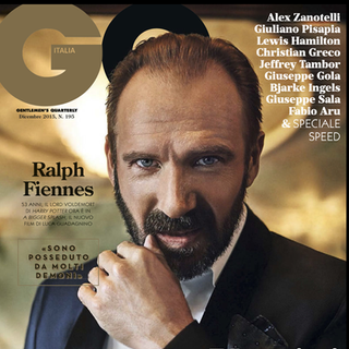COVER GQ Ralph Fiennes