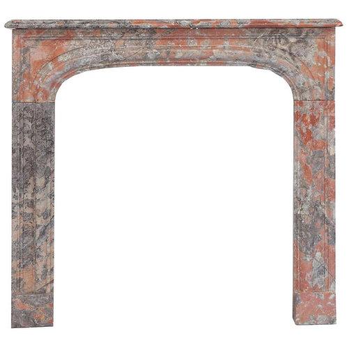19th Century Louis Phillipe Marble Fireplace Mantel