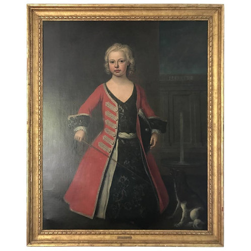 Portrait of Prince William III the Son of King George II