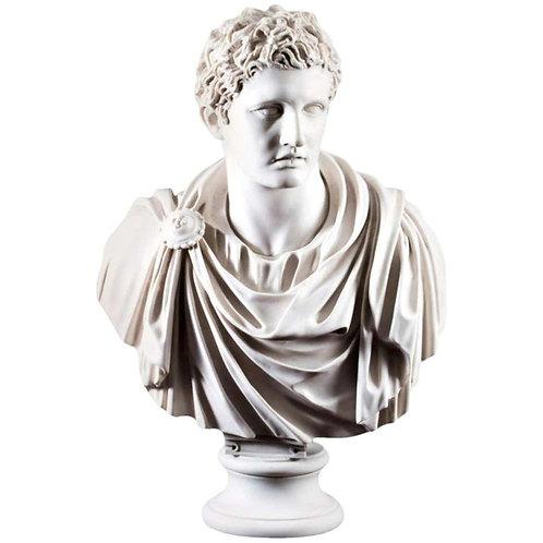 Mark Antony Bust Sculpture, 20th Century