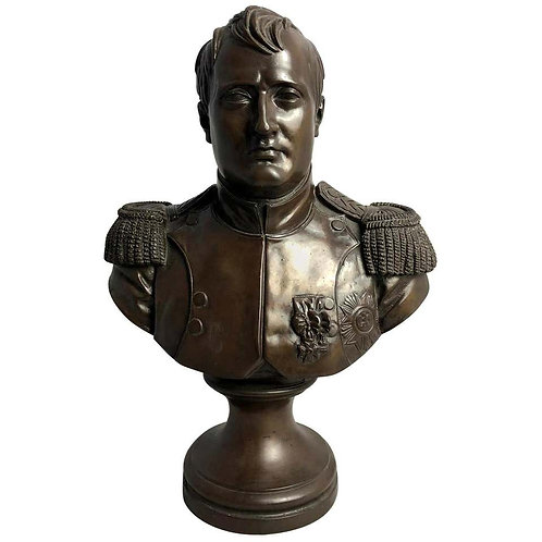 Napoleon Bronze Bust, 20th Century