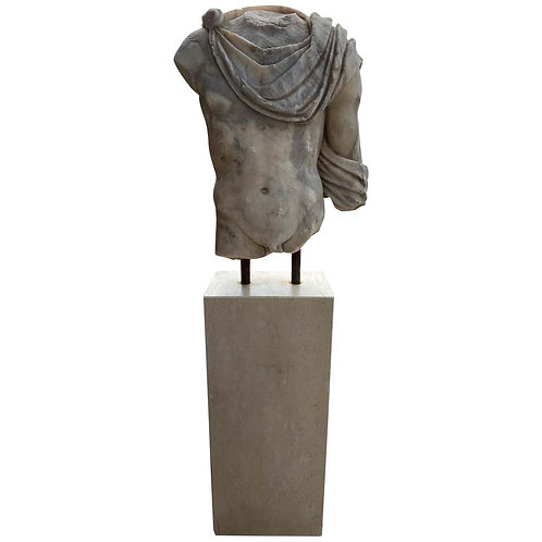 20th Century Replica of Greek Roman Marble Torso