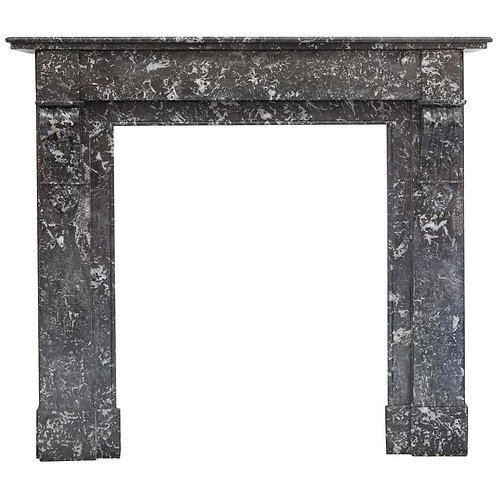 19th Century Louis Phillipe Style Anne's Marble Fireplace Mantel