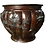 Thumbnail: Large and Decorative Copper Firewood Bucket, 19th Century