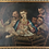 Thumbnail: 19th Century Italian Oil on Canvas of Jesus, Mary, Wise Men, Angel and Donkey