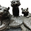 Thumbnail: Bronze Lion Statue, Tiger and Cubs Animals Casting, 20th Century