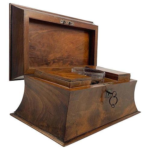 Early 19th Century Mahogany Tea Caddy