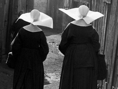 Religieuse et infirmière, Sylvette Gimel