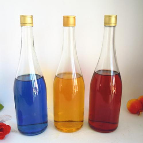 750ml mineral water soda water glass bottle