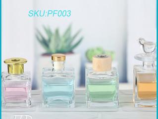 original vintage perfume glass bottles and soap jar