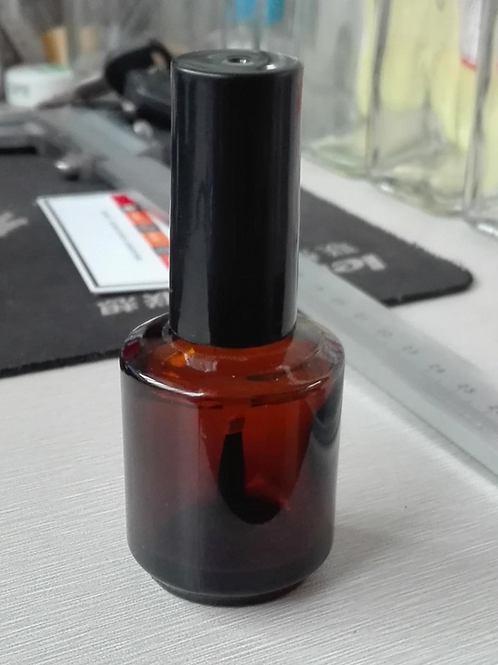 5ml 10ml 15ml 20ml Nail polish empty amber glass bottle