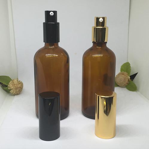 100ml amber essential oil glass bottles