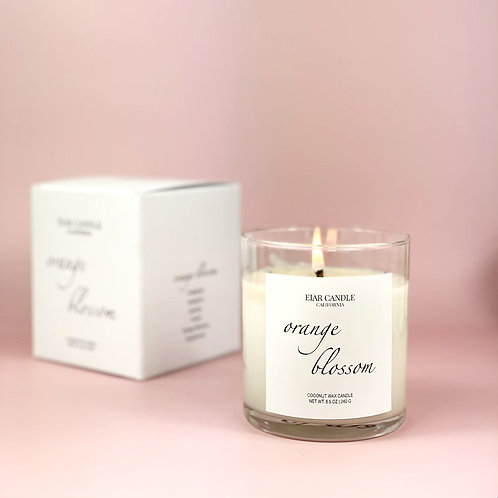 Orange Blossom Signature Candle