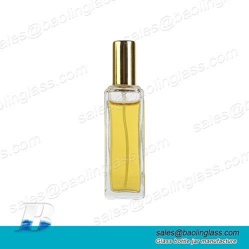 Wholesale 30ml glass perfume bottle spray clear glass spray bottle for perfume