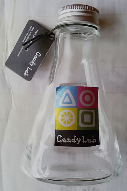 180ml candy lab glass bottle