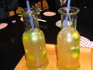 New type juice glass bottle for restaurant