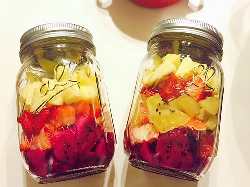 150ml 480ml Fruit Salad Ball Mason Jar