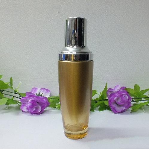 100ml gold glass lotion/toner/emulsion bottle