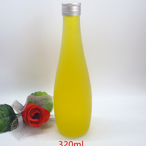 11oz 320ml 330ml Glass Frosted Juice Bottle