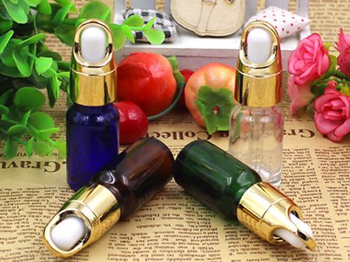 10ml amber essential oil glass bottle