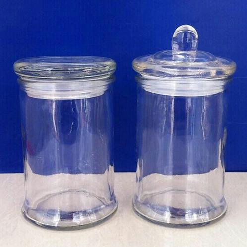 12.7oz 375ml glass candle jar dry food storage jar