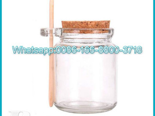 250ml Cylinder jam glass jar transparent glass seasoning bottle used for kitchen